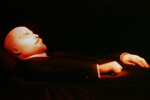 - FILE PHOTO MAY97 -- The body of the Bolshevik leader Vladimir Lenin lies in the Mausoleum on Red S..