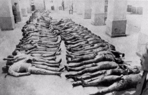 Tshekan teloittamia ihmisiä Kievissä vuonna 1919.
