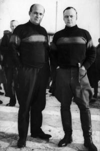 Vihtori Kosola ja Kurt Martti Wallenius
