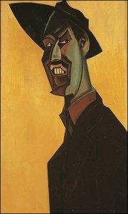 Wyndham Lewis: Omakuva (1921)