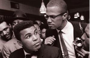 Muhammad Ali ja Malcolm X.