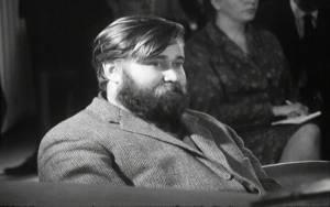 Hannu Salama oikeudenkäynnissä vuonna 1965.